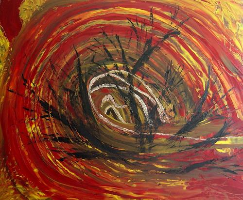 waldraut hool-wolf, vortice, Abstract art, Abstract art, Neo-Expressionism