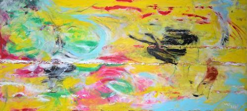 waldraut hool-wolf, the face, Abstract art, Abstract art, Contemporary Art