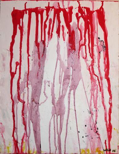 waldraut hool-wolf, a kiss, Abstract art, Abstract art, Contemporary Art