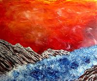 waldraut-hool-wolf-Abstract-art-Landscapes-Sea-Ocean-Contemporary-Art-Neo-Expressionism