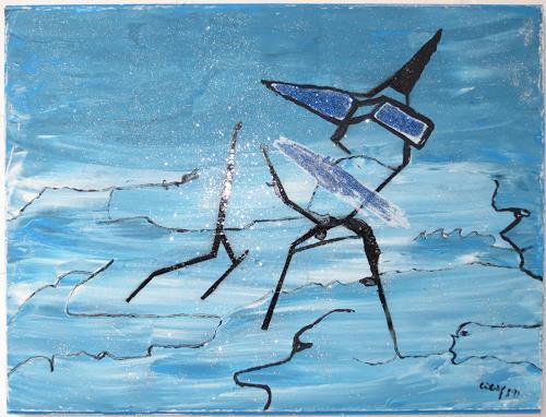 waldraut hool-wolf, Lady Selin, People: Women, Emotions: Pride, Contemporary Art