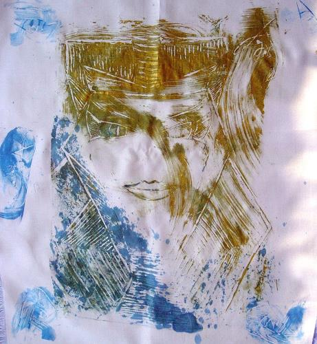 waldraut hool-wolf, alt in neu 3S, Abstract art, Abstract art, Neue Wilde