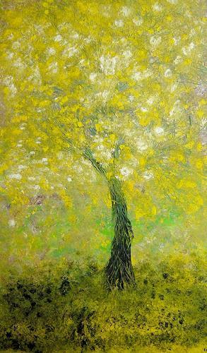 waldraut hool-wolf, verdechiaro albero, Movement, Abstract art, Neo-Expressionism
