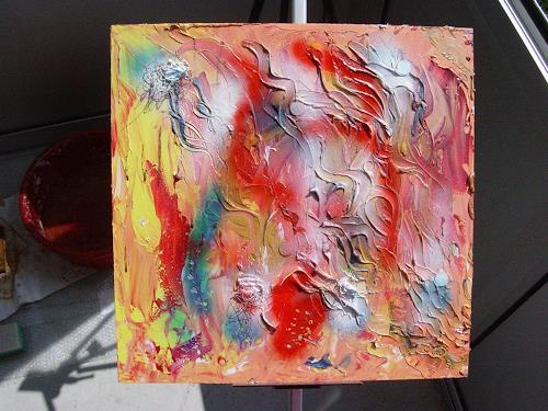 waldraut hool-wolf, to look in, Abstract art, Situations, Neo-Expressionism