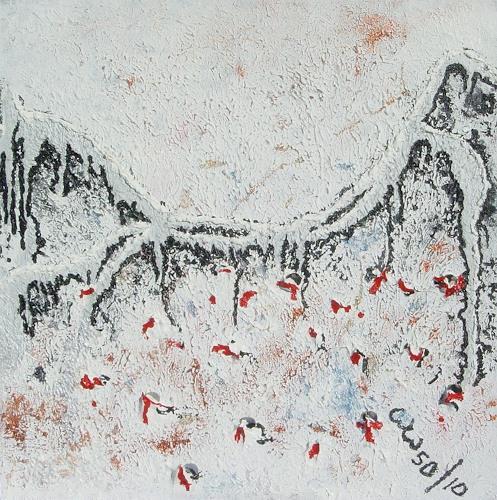 waldraut hool-wolf, auf the bridge*5D*, Abstract art, History, Abstract Art