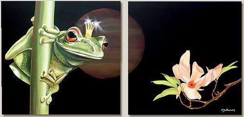 Wandmaler, Froschkönig, Miscellaneous Interiors, Miscellaneous Animals, Photo-Realism