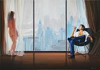 Wandmaler-Miscellaneous-Erotic-motifs-Decorative-Art-Modern-Age-Photo-Realism