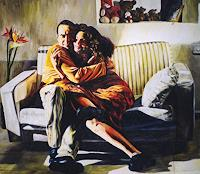 raphael-perez-People-Couples-Emotions-Love-Modern-Times-Realism