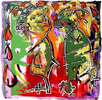 raphael-perez-People-Couples-Contemporary-Art-Neo-Expressionism