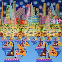 raphael-perez-Miscellaneous-Landscapes-Miscellaneous-Buildings-Modern-Age-Primitive-Art-Naive-Art