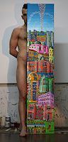 raphael-perez-Erotic-motifs-Male-nudes-Miscellaneous-Erotic-motifs-Modern-Age-Primitive-Art-Naive-Art