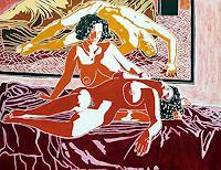 raphael-perez-Miscellaneous-Erotic-motifs-Erotic-motifs-Female-nudes-Modern-Times-Realism