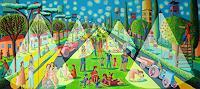 raphael-perez-Miscellaneous-Landscapes-Plants-Modern-Age-Primitive-Art-Naive-Art