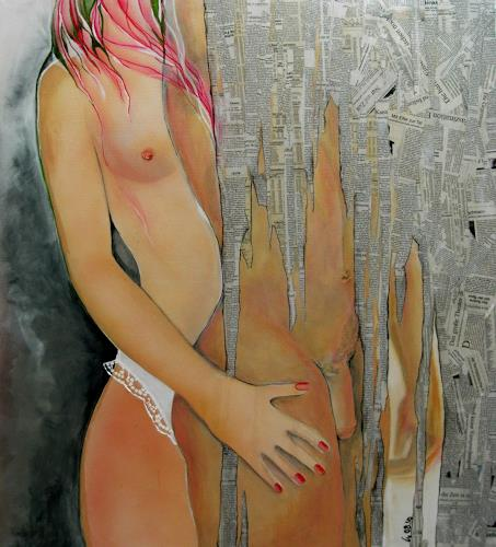 Helga Sachse, ZEIT, Miscellaneous Erotic motifs, Emotions: Love, Contemporary Art
