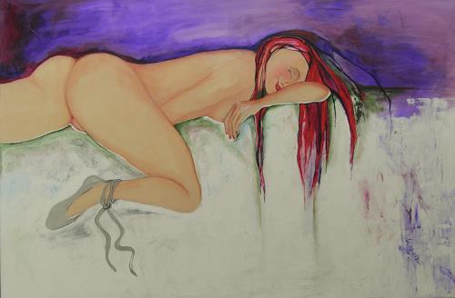 Helga Sachse, 02.011, Erotic motifs: Female nudes, Emotions: Joy, Contemporary Art