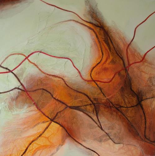 Beate Biebricher, Linienspiel, mitte, Abstract art, Movement, Contemporary Art
