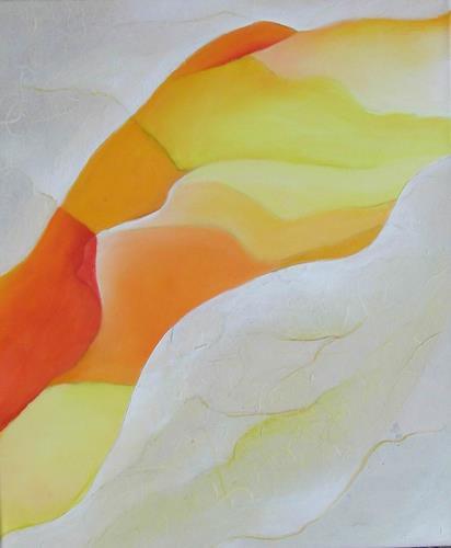 Beate Biebricher, Schwebender Körper, Abstract art, Erotic motifs: Female nudes, Contemporary Art