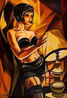 Bona-Erotic-motifs-Female-nudes-People-Models-Modern-Age-Expressionism