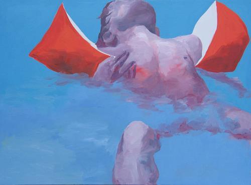 Peter Schmitz, Engel, People: Children, Nature: Water, Realism, Expressionism