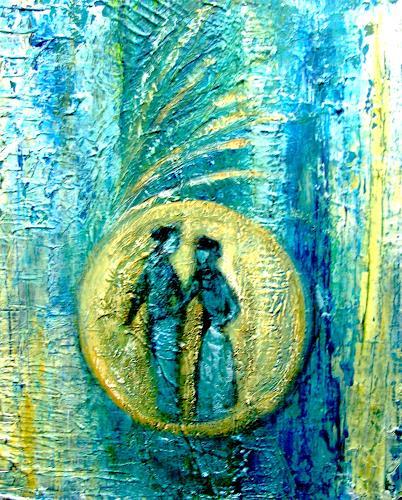 Agnes Vonhoegen, Begegnung im Universum, Emotions: Safety, Mythology, Contemporary Art
