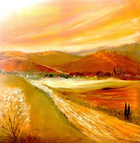 Agnes Vonhoegen Art Landscapes: Mountains Nature: Earth Contemporary Art