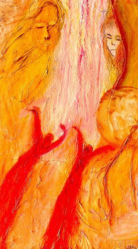 Agnes Vonhoegen, Die Engel die ich rief, People: Faces, Movement, Contemporary Art