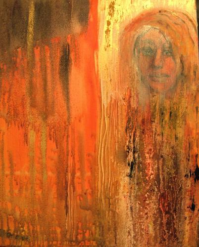 Agnes Vonhoegen, Was erwartet mich?, Emotions: Grief, Abstract art, Contemporary Art