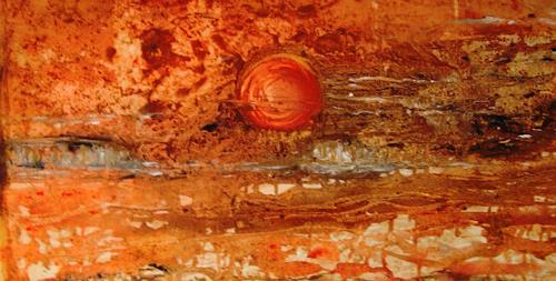 Agnes Vonhoegen, Auf dem Weg zum unbekannten Planeten, Fantasy, Abstract art, Contemporary Art