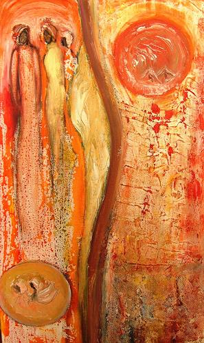 Agnes Vonhoegen Art Abstract art People: Group Contemporary Art