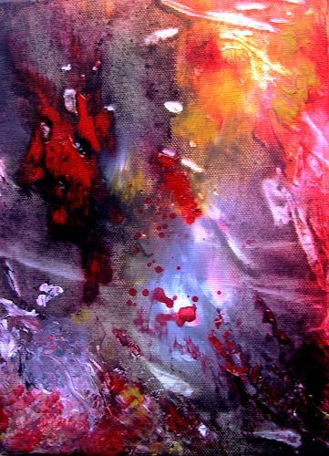 Agnes Vonhoegen, Naturstudie III, Abstract art, Fantasy, Contemporary Art