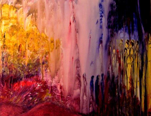 Agnes Vonhoegen, Sehnen und Erwarten, Emotions: Safety, Emotions: Love, Contemporary Art, Expressionism