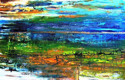 Agnes Vonhoegen, Spätsommer, Abstract art, Decorative Art, Contemporary Art