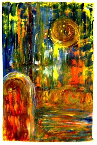 Agnes Vonhoegen, Naturschauspiel, Abstract art, Movement, Contemporary Art