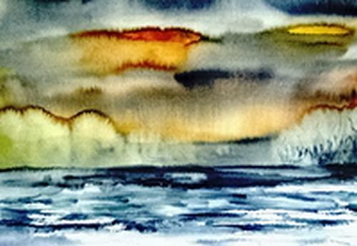 Agnes Vonhoegen, Seelandschaft, Fantasy