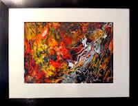 Agnes-Vonhoegen-Decorative-Art-Plants-Flowers-Modern-Age-Abstract-Art