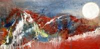 Agnes-Vonhoegen-Nature-Rock-Landscapes-Mountains-Contemporary-Art-Contemporary-Art