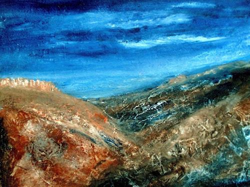 Agnes Vonhoegen, Berglandschaft, Landscapes: Mountains, Miscellaneous Landscapes, Contemporary Art