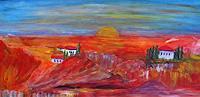 Agnes-Vonhoegen-Landscapes-Mountains-Nature-Contemporary-Art-Contemporary-Art
