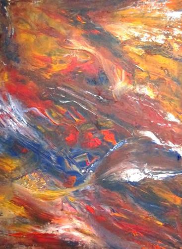 Agnes Vonhoegen, o.T., Abstract art, Fantasy, Abstract Art