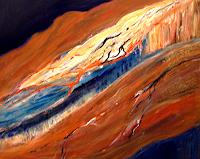 Agnes-Vonhoegen-Landscapes-Mountains-Landscapes-Sea-Ocean-Contemporary-Art-Contemporary-Art