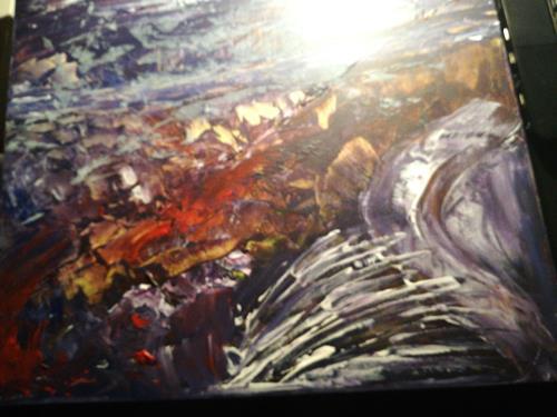 Agnes Vonhoegen, o.T., Abstract art, Action Painting