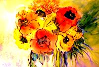 Agnes-Vonhoegen-Plants-Flowers-Nature-Contemporary-Art-Contemporary-Art