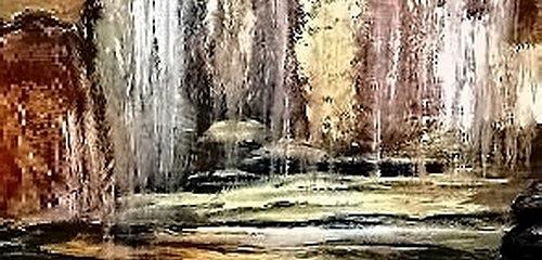 Agnes Vonhoegen Art Nature: Water Movement Contemporary Art