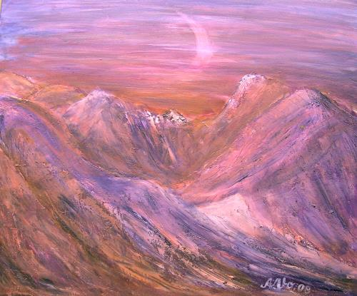 Agnes Vonhoegen Art Landscapes: Mountains Nature: Rock Contemporary Art
