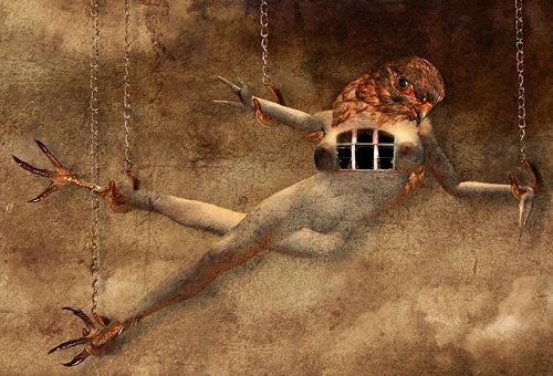 Pascale Turrek, die jagd ist vorbei, Miscellaneous, Miscellaneous, Surrealism