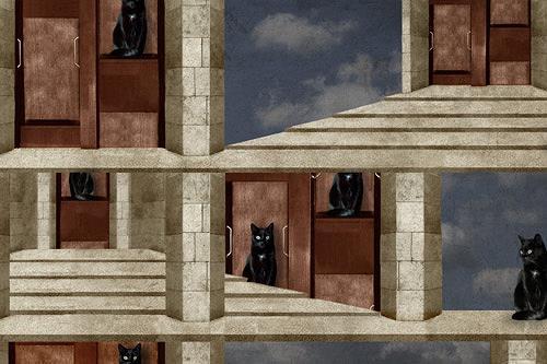Pascale Turrek, paternoster, Miscellaneous Animals, Animals: Land, Surrealism