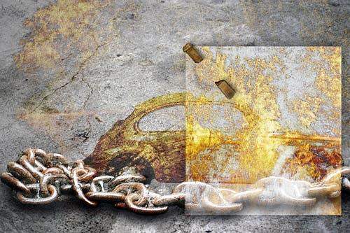 Pascale Turrek, An-ordnung, Traffic: Car, Symbol, Surrealism
