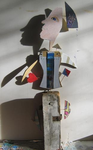 Leonore Zimmermann, Dream to fly, Humor, Technology, Pop-Art