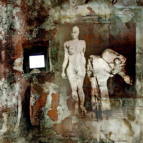 karl dieter schaller, hyänen im garten 2, Miscellaneous, Contemporary Art, Abstract Expressionism