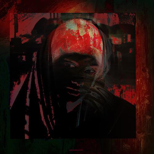 karl dieter schaller, rotkäppchen. oder der wolf im menschen. v1, Miscellaneous, Contemporary Art, Abstract Expressionism